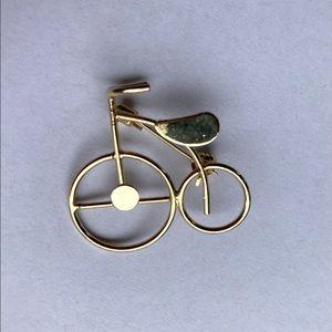 VINTAGE 80's Trike Brooch